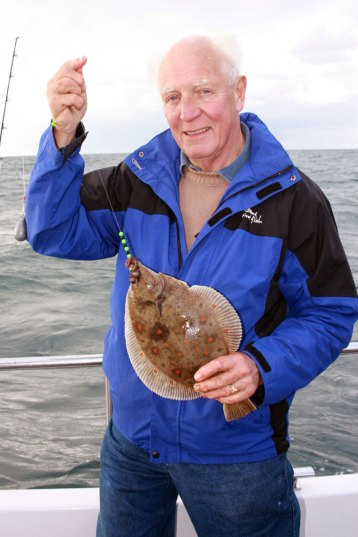 Weymouth plaice fishing Supernova plaice