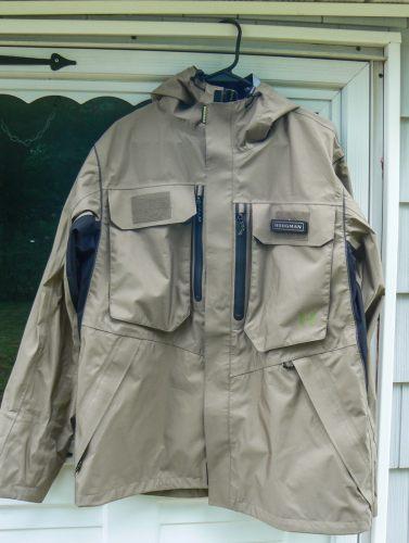 Hogman rainwear jacket an angling accessory