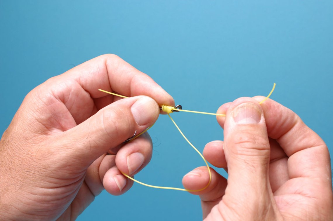 Step 5 - How To Tie The Snell Knot