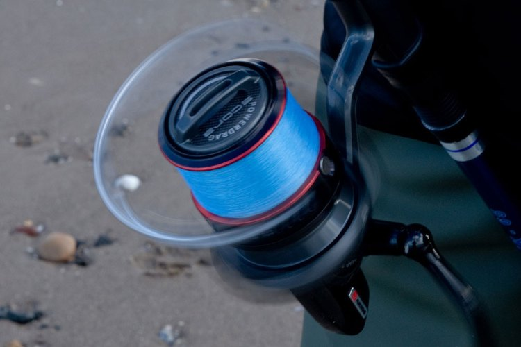 Akios Scora 80 Fixed Spool Reel bail rotating