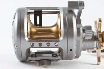 Daiwa LW20HA reel rear view