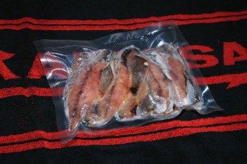 Eiffel Freshpack Pro Vacuum Sealer bait packed