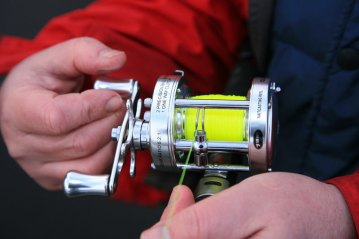 Fisheagle CL50 multiplier reel level wind