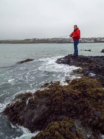 St Leger Renegade Spinning Rod fishing