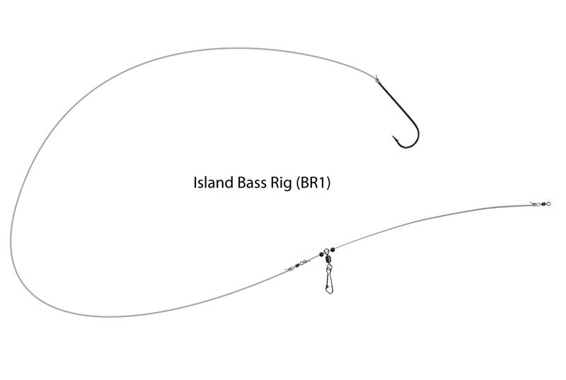 UK Hooks Boat Rigs diagram bass