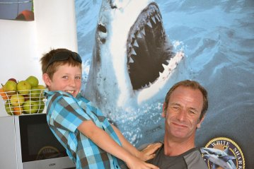 Daniel Dickinson South Africa Robson Green