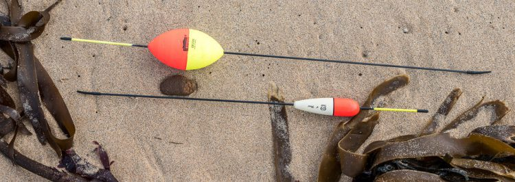 Two Alderney Style Long Stem Floats
