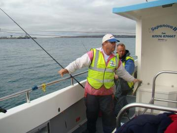 wibac boat fishing weymouth scoring fish
