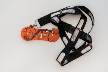 The Blade Tech G2 sharpener comes with lanyard