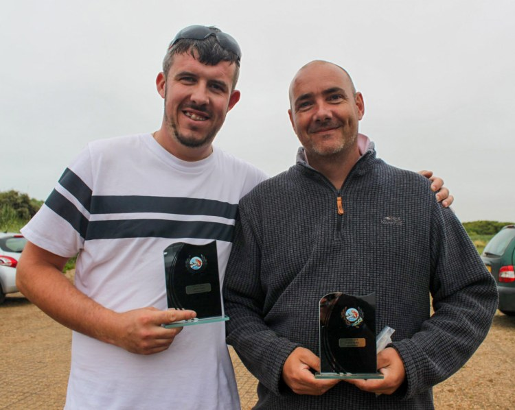 Lincolnshire Pairs winners 2019 - Mike Fox and Troy Francis