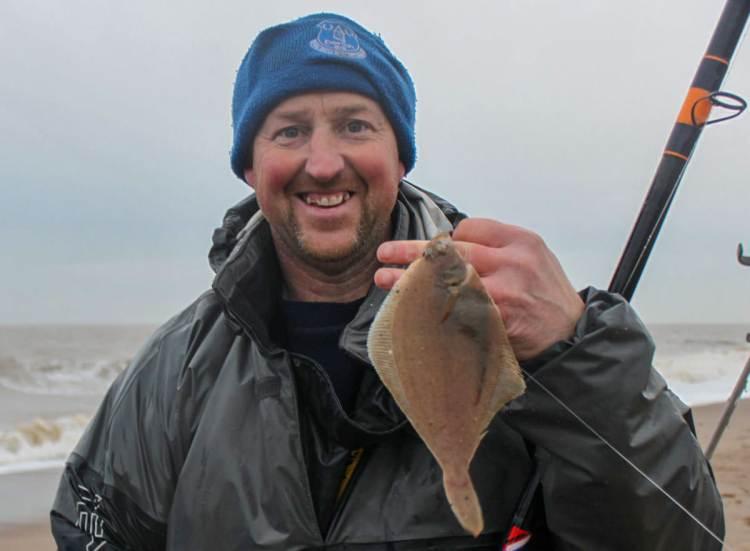 Match winner Adie Cooper caught plenty of fish