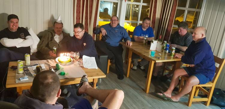 Andy Reeves 61st birthday bash