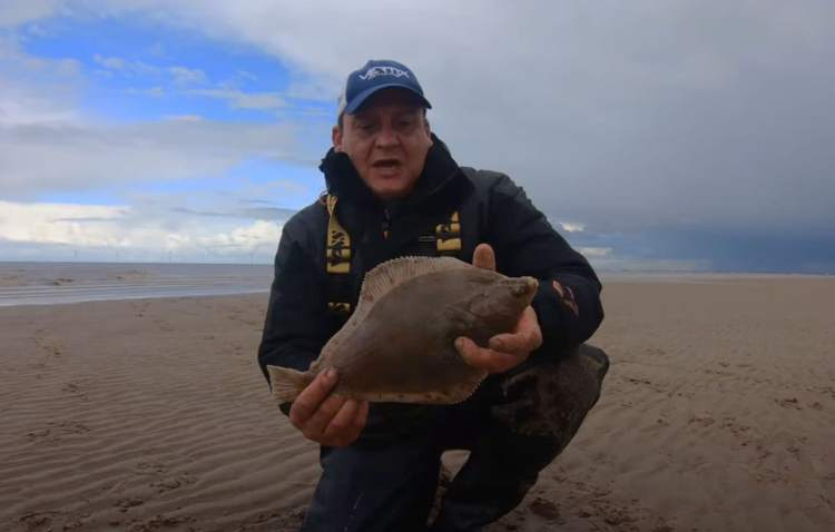 Paul with a plaice