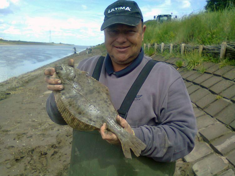 a match flounder