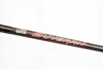Abu Suveran Evo 20lb boat rod decal