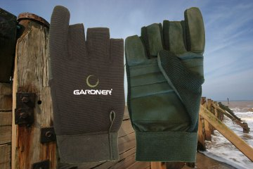 Gardner Casting Glove front and back