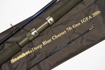 Snowbee Deep Blue Charter Rods with bag
