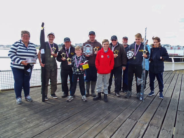 Winners of the Clacton Pier Charity Shield Match