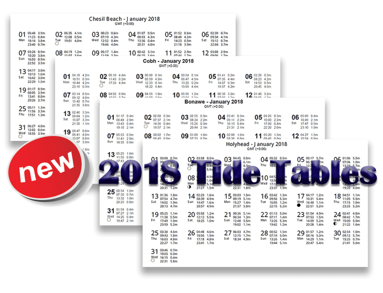 2018 tide tables graphic