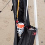double compartment quiver with fixed spool rods