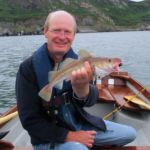 Sea Fishing in Wicklow boat small cod