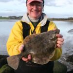 a flounder from the Wexford mud