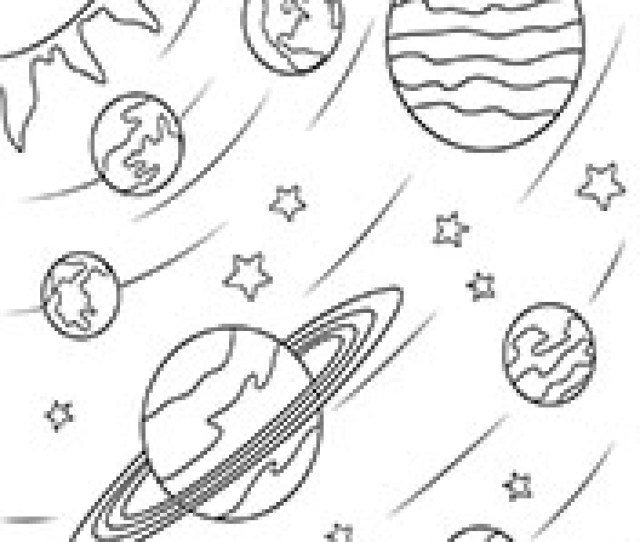 Planet Coloring Pages Free Printable Solar System Coloring Pages