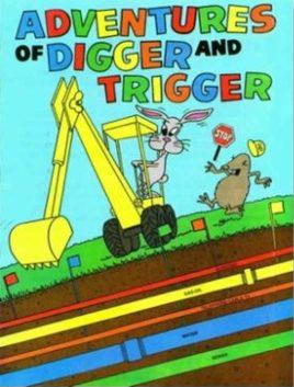 digger and trigger coloring