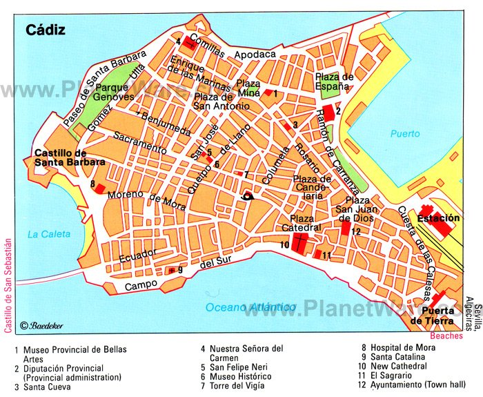 Seville Spain Map Tourist Attractions   Travelyok.co