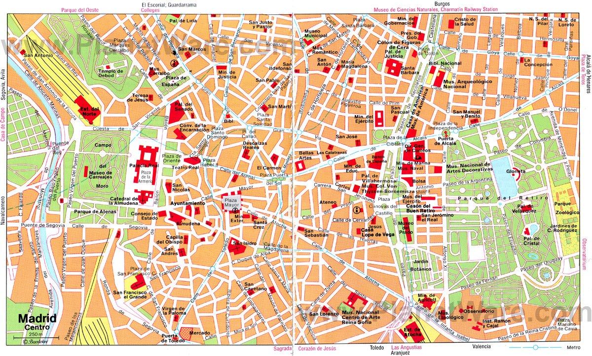 madrid şehir haritası ile ilgili görsel sonucu