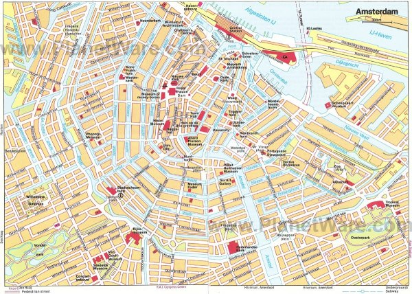 17 TopRated Tourist Attractions in Amsterdam PlanetWare