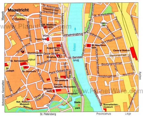 12 TopRated Tourist Attractions in Maastricht PlanetWare