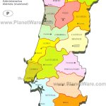 Map Of Portugal Planetware
