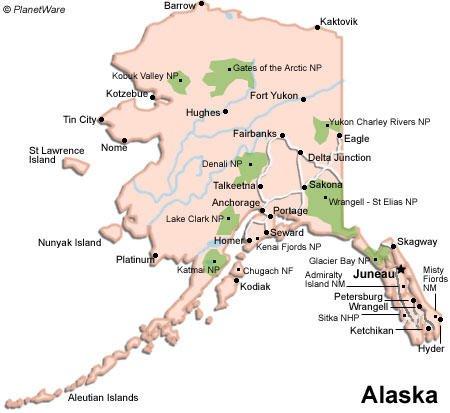 Alaska Travel Guide PlanetWare