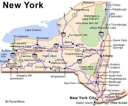 New York Travel Guide PlanetWare