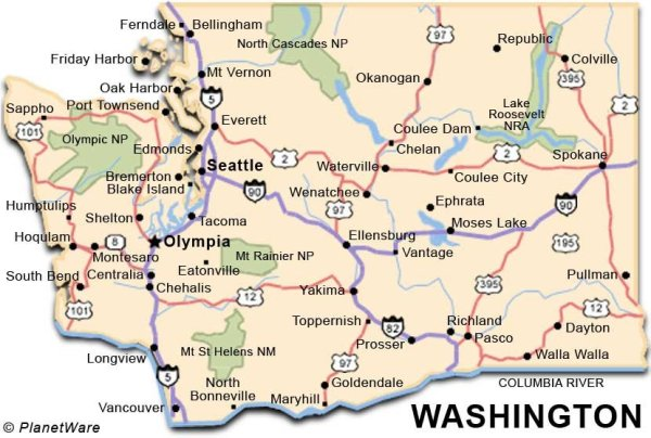 Washington Travel Guide PlanetWare