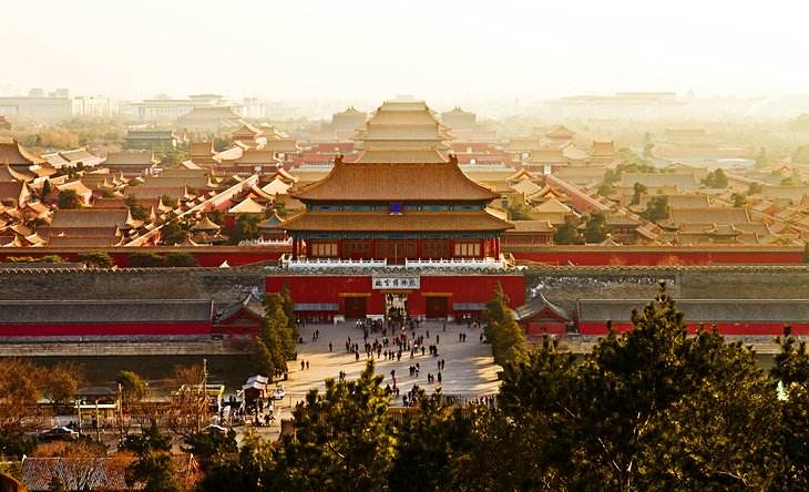 The Forbidden City and the Imperial Palace, Beijing