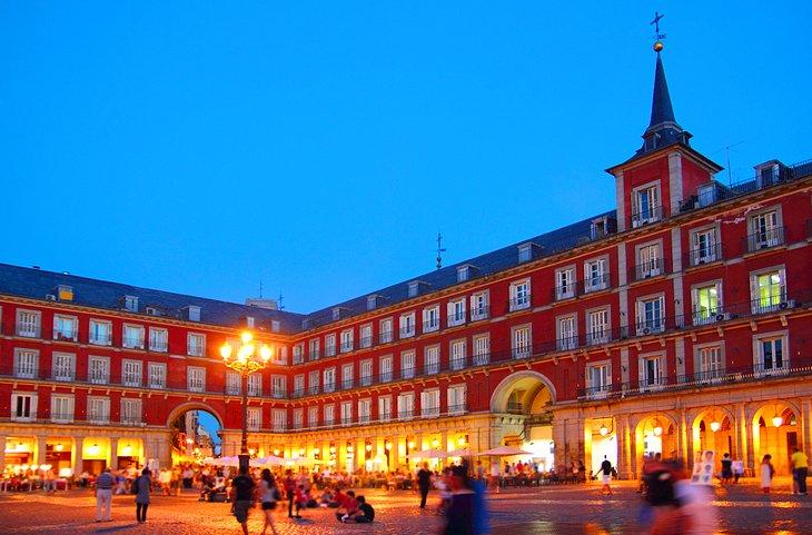 Plaza Mayor, Мадрид