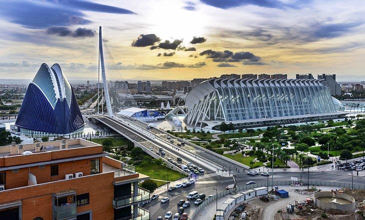 Сьюдад-де-лас-Артес-и-лас-Сьенсиас, Валенсия
