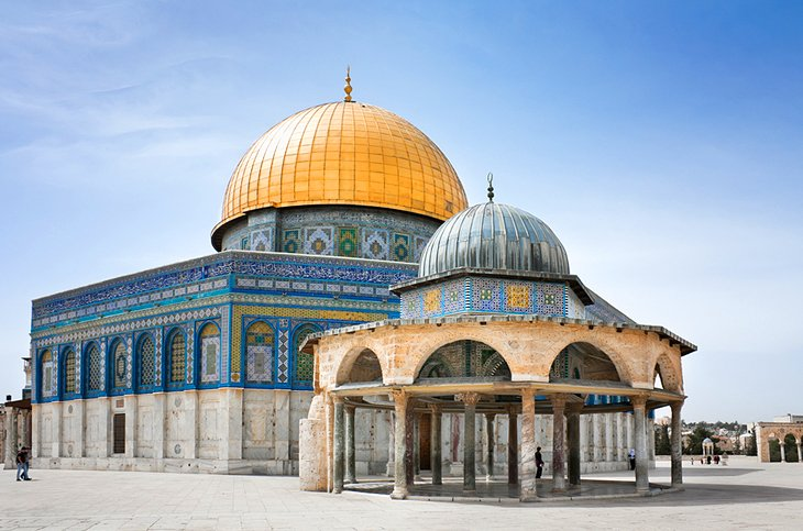 Image result for dome of the rock mosque