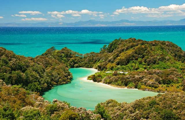 Abel Tasman National Park and the Abel Tasman Coast Track, South Island
