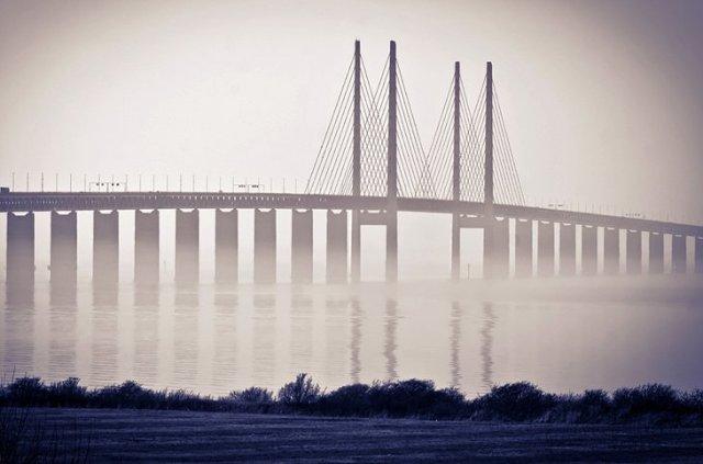 Oresund Bridge, Malmo