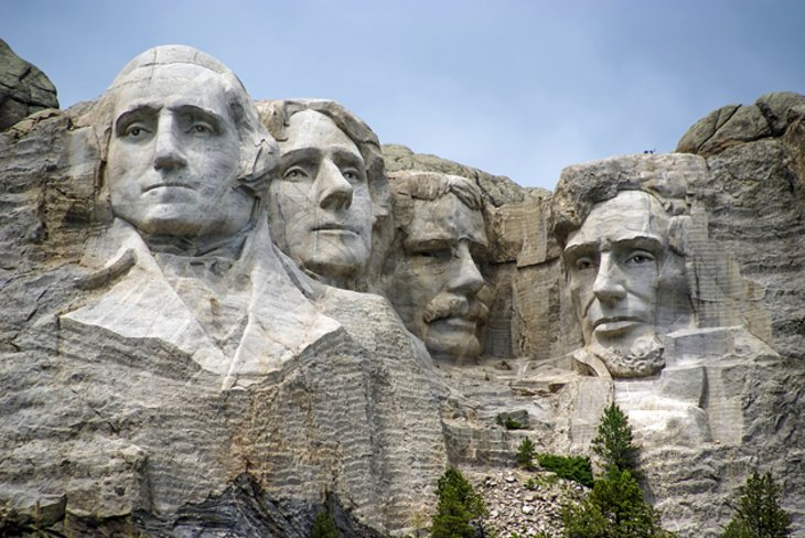 Faces Mount Rushmore Presidents Names