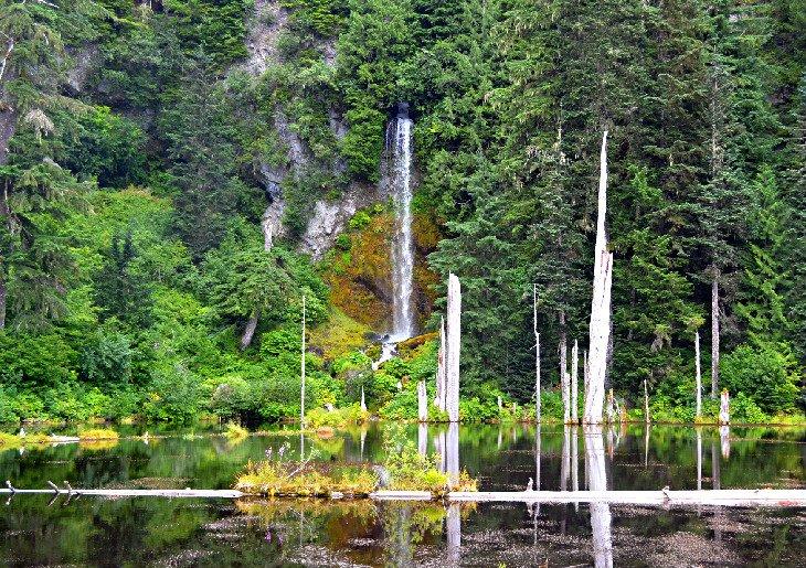 Waterfall at June Lake