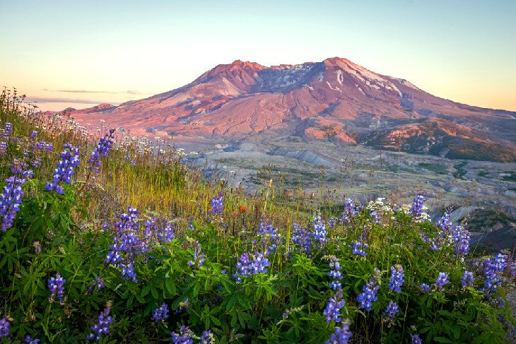 Mount St. Helens from the Loowit Trail