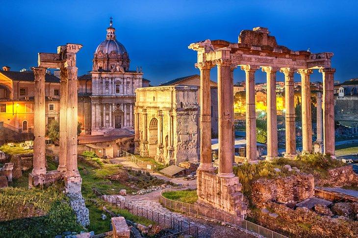 Dünyada Gezilecek Yerler Roma, İtalya