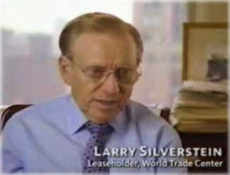 "Larry Silverstein, owner of WTC 7, said in a PBS interview that he told the Fire Department that, '""The smartest thing to do is pull it."" Screen shot from PBS."