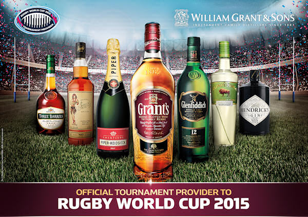 William Grant  Sons Named Official Spirits  Champagne