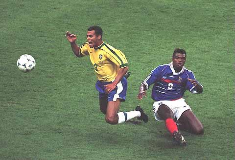 Image result for desailly sent off