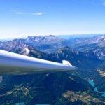 Planeur-Tallard-Vol-bapteme pilotage-Lambada